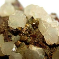 Calcite Quartz & Pyrite