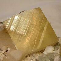 Calcite With Stilbite