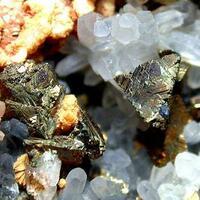 Chalcopyrite Quartz & Calcite