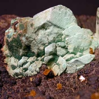 Malachite Psm Azurite & Wulfenite