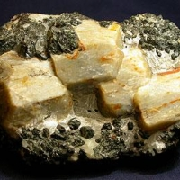 Scapolite With Spinel