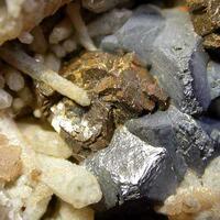 Galena Quartz & Calcite