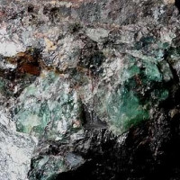 Prosopite Fluorite & Hematite
