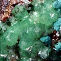 Smithsonite Rosasite & Cerussite