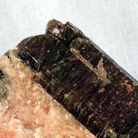 Apatite On Calcite