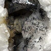 Goethite On Calcite