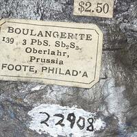 Boulangerite