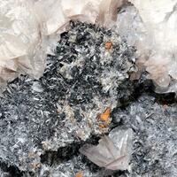 Calcite Hemimorphite & Plattnerite