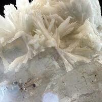 Celestine On Fluorite