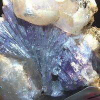 Chabazite Calcite & Tanzanite