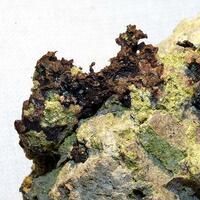 Native Copper Adularia & Tenorite