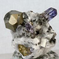 Tanzanite & Pyrite