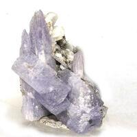 Tanzanite With Laumontite