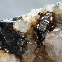 Bournonite & Quartz
