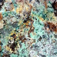 Chalcosiderite Dufrénite & Cyrilovite