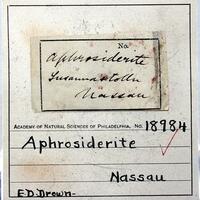 Chamosite var Aphrosiderite