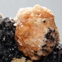 Dolomite & Hematite On Quartz