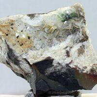 Millerite Galena & Morenosite