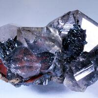 Smoky Quartz & Hematite