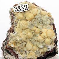 Stilbite Psm Analcime With Calcite