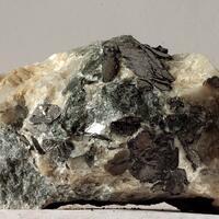 Graphite In Calcite