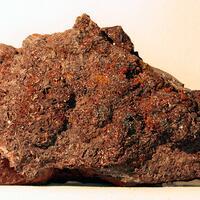Eisenkiesel On Hematite & Fluorite