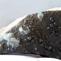 Sphalerite Pyrite & Barian Celestine