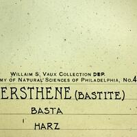 Hypersthene Var Bastite