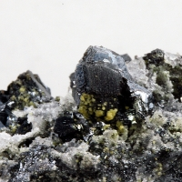 Chalcocite With Zinc Siderite