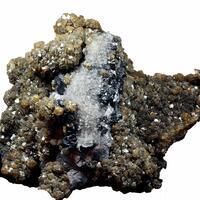 Siderite Psm Pyrrhotite Sphalerite & Galena
