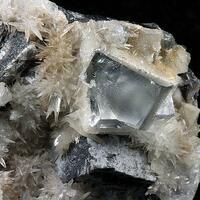 Fluorite Galena & Aragonite