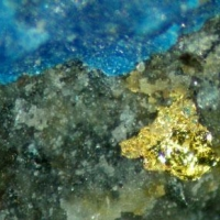 Gold With Pseudoboleite