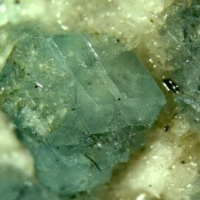 Grossular Var Green With Tremolite