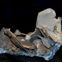 Ferroan Magnesite & Calcite
