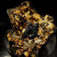 Ferberite & Chalcopyrite