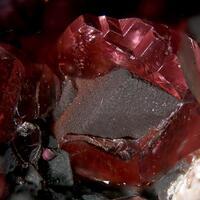 Rhodochrosite & Pyrolusite