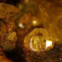 Wulfenite & Chromian Wulfenite
