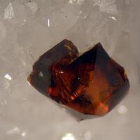 Sphalerite On Marble
