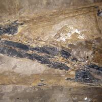 Stibnite Stibiconite & Fluorite