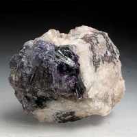 Bismuthinite In Fluorite