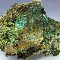 Chalcophyllite & Olivenite