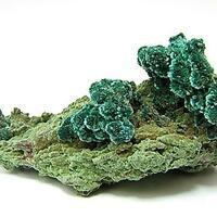 Malachite On Olivenite