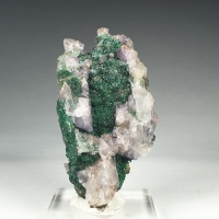 Cuprite Brochantite & Fluorite
