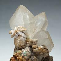 Quartz Calcite & Adamite