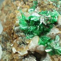 Annabergite & Calcite