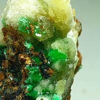 Annabergite Cabrerite & Calcite