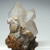 Quartz Calcite & Adamite