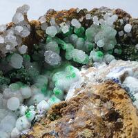 Conichalcite & Aragonite