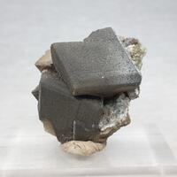 Calcite & Goethite On Quartz