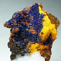 Azurite & Limonite